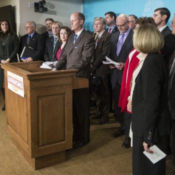 Senate Republicans' Advancing Minnesota press conference