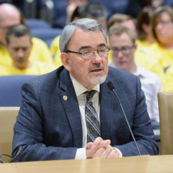 Sen. Bill Weber of Luverne