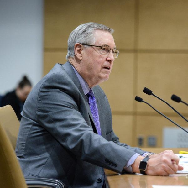 Senator Scott Newman of Hutchinson