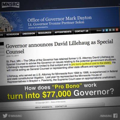 accountability from Gov. Mark Dayton
