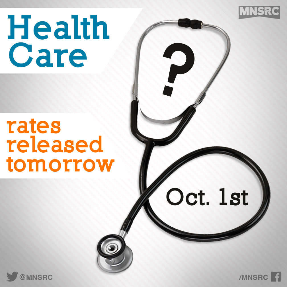 Healthcare Premiums to be Released Tomorrow