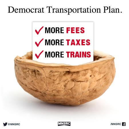 Democrats increase transportation taxes on drivers and consumers