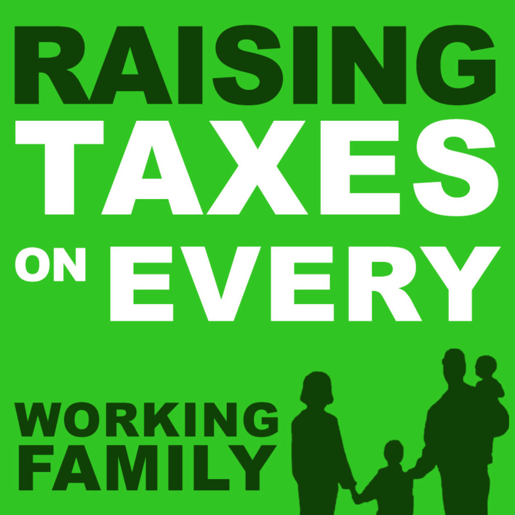Senate Democrats increase taxes on every working family