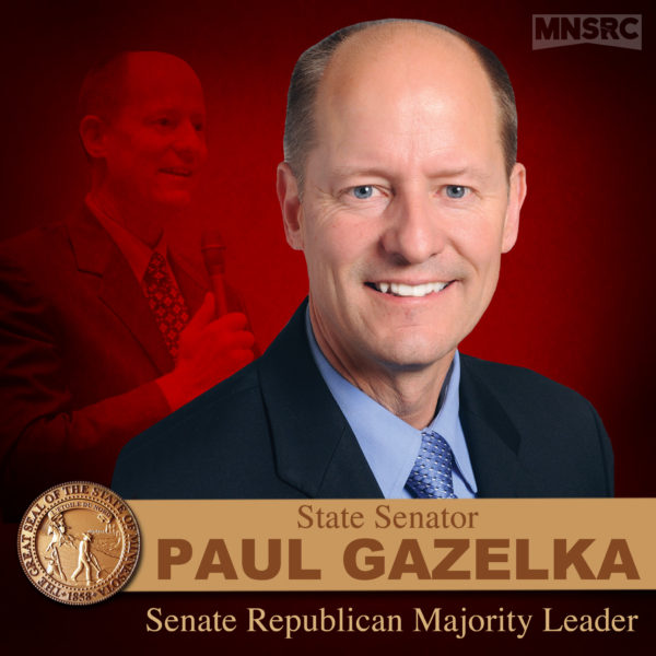 Sen. Paul Gazelka elected as Majority Leader