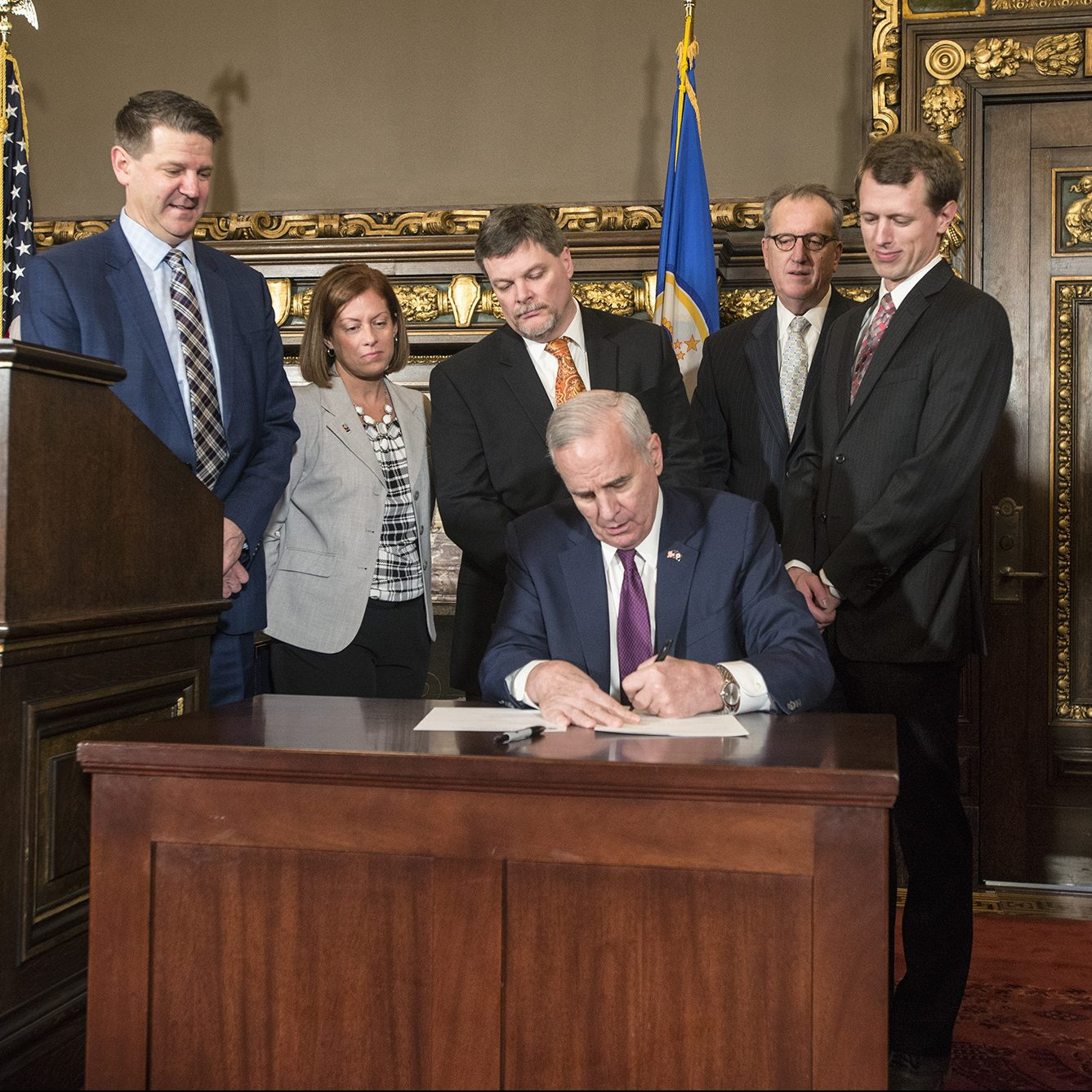 Mathews legislation for Sherco plant signed into law
