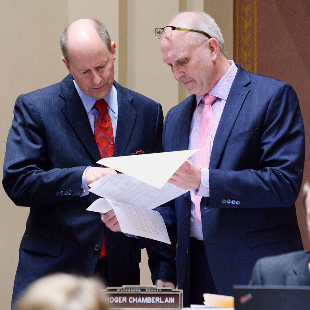 Senator Chamberlain proposes bold tax reform idea
