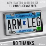 Gov. Dayton's tab fee hike would cost Minnesotans an arm and a leg