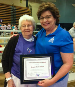 Sen. Carla Nelson and her mother