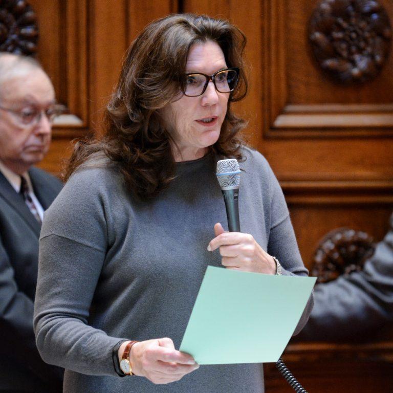 Rosen pension bill floor