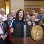 Rosen pension bill signing cropped