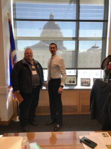Senator Jeremy Miller constituent visits